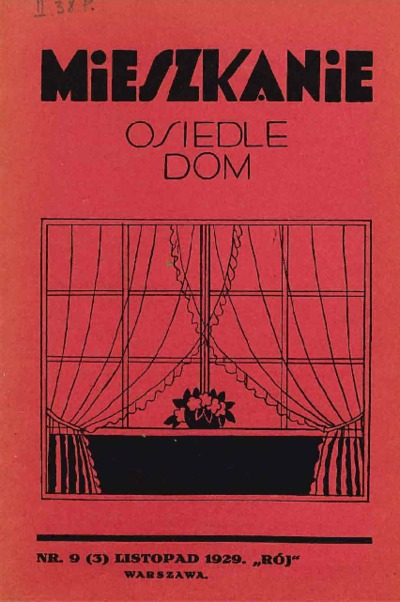 Mieszkanie, Osiedle, Dom 1929 nr 9 (3)