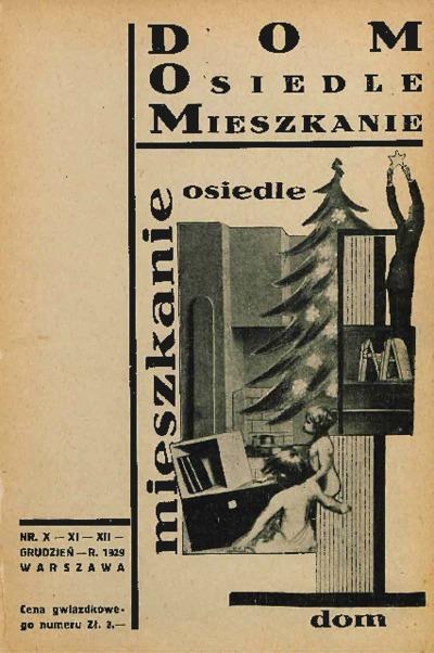 Dom, Osiedle, Mieszkanie 1929 nr 10-12