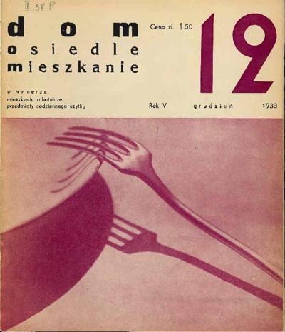 Dom, Osiedle, Mieszkanie 1933 grudzień