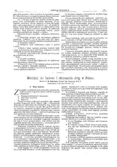 Piśmiennictwo profesora Melchiora Nestorowicza - zestawienie bibliograficzne i pełne teksty wybranych publikacji