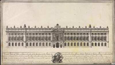 [Decoración del palacio del Rocio en Lisboa] [Material gráfico]