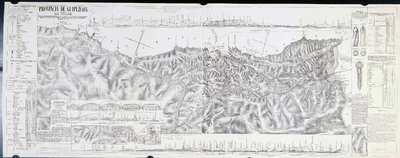 Provincia de Guipuzcoa [Material cartográfico] : plano topográfico de las posiciones que ocupan las fuerzas liberales y Carlistas en las inmediaciones de San Sebastian, Guetaria, Hernani, Pasages, Renteria, Irun y Fuenterrabía