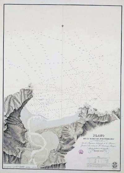 Plano de la Bahia de Fuenterrabia [Material cartográfico]