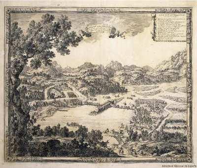 L'Isle de la Conference [Material cartográfico] : ou la Paix generalle a esté conclue entre la France et l'Espagne le 7 Novemb. 1659