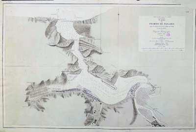 Plano del puerto de Pasajes. H. 20B