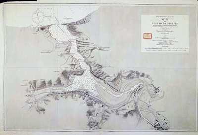 Plano del puerto de Pasajes formado con presencia de los mejores datos antiguos y modernos [Material cartográfico]