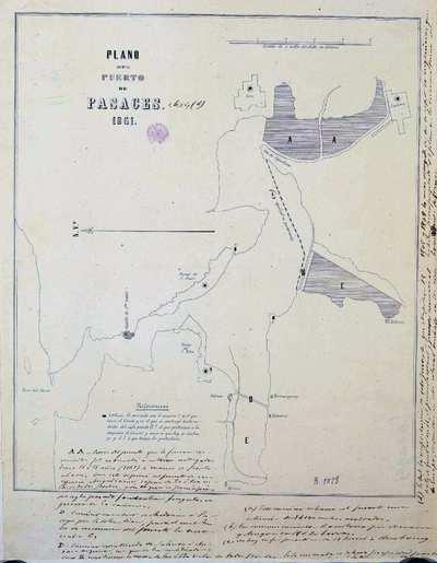 Plano del Puerto de Pasages [Material cartográfico]