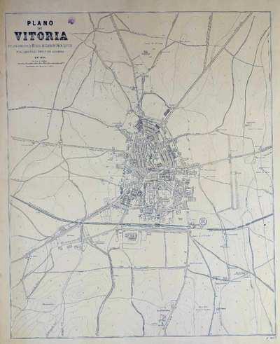 Plano de Vitoria [Material cartográfico]
