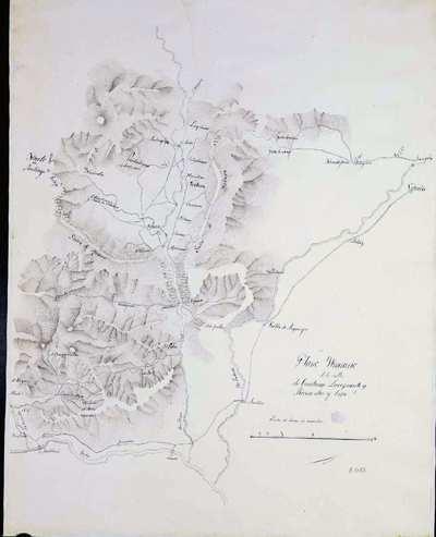 Plano Ytinerario de los valles de Cuartango, Lacozmente y Rivera alta y baja [Material cartográfico]