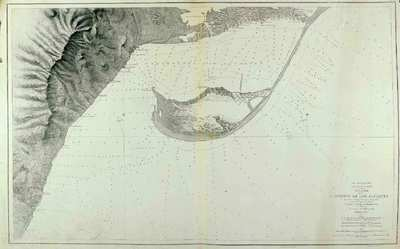 Plano del puerto de Los Alfaques. H. 238A