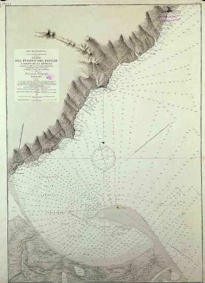 Plano del Puerto del Fangar y Golfo de la Ampolla. H. 297A [Material cartográfico]