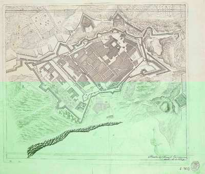 [Plan de la ciudad de Tarragona] [Material cartográfico]