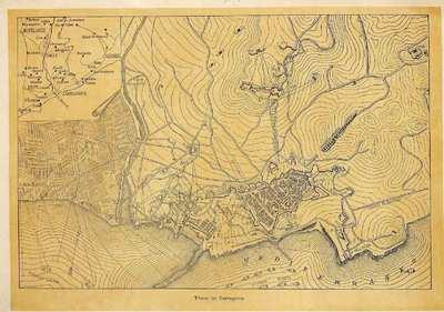 Plano de Tarragona [Antonio de Bofarull y Brocá] [Material cartográfico]