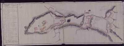 Plan du chataux de Tortose et de son avenièe [Material cartográfico]