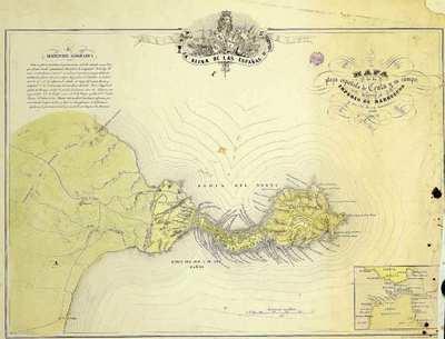 Mapa de la plaza española de Ceuta y su campo frontero al Imperio de Marruecos y parte de su territorio [Material cartográfico]