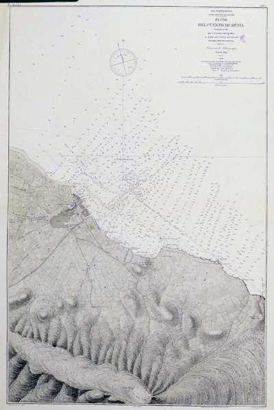 Plano del puerto de Dénia. H. 293A [Material cartográfico]