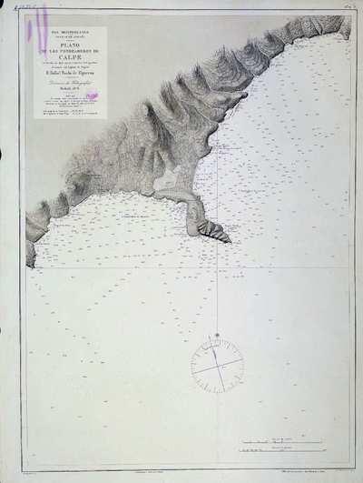 Plano de los fondeaderos de Calpe H. 0289 A [Material cartográfico]