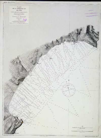 Plano de la ensenada de Altea. H. 0288 A [Material cartográfico]