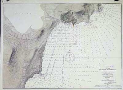 Plano de la rada de Torrevieja. H. 284A [Material cartográfico] :]comprende desde el Rincon de Punta Prima hasta la Cala de la Higuera
