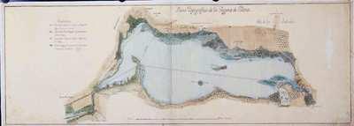 Plano topográfico de La Laguna de Villena [Material cartográfico]