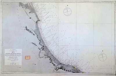 Desde el Cabo de San Antonio hasta la Albufera de Valencia. H. 834 [Material cartográfico] :]Mar Mediterraneo : Costa Oriental de España : Hoja IX