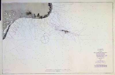 Plano de la Bahía de Santa Pola y de la Isla de Tabarca. H. 285A [Material cartográfico]
