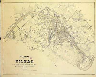 Plano de Bilbao [Material cartográfico]
