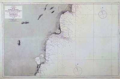 Desde el cabo Roig hasta el Cabo de las Huertas. H. 832 [Material cartográfico] :]Mar Mediterraneo : Costa Sueste de España : Hoja VII
