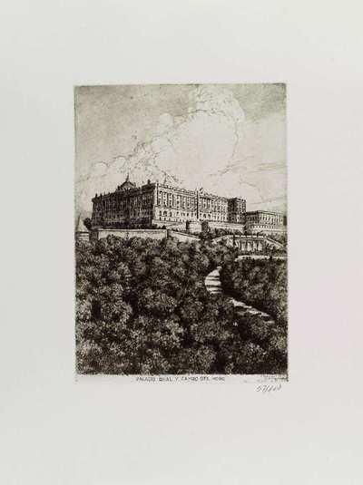 Palacio Real [Material gráfico]