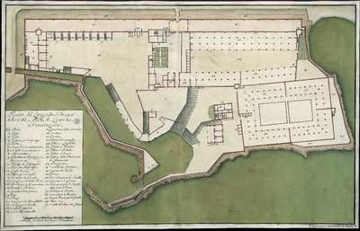 Pianta del Lazzeretto S. Jacopo della Cittá, e Porto di Livorno [Material cartográfico]