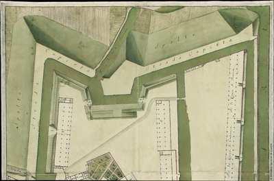 Pianta del Lazzeretto detto di S. Rocco della Cittá e Porto di Livorno [Material cartográfico]