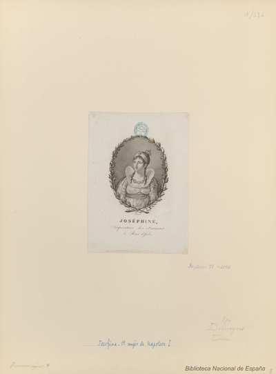 JOSÉPHINE, Impératrice des Français & Reine d'Italie