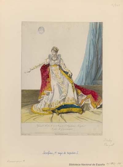 Grand Habit de sa Majesté l'Imperatrice Josephine le jour du Couronnement