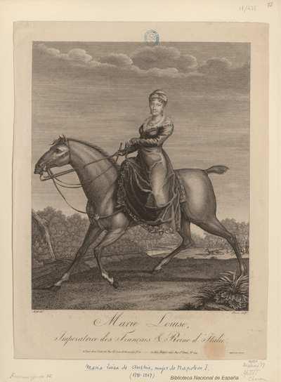 Marie Louise, Imperatrice des Français & Reine d'Italie