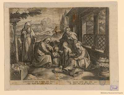 [La Sagrada Familia con Santa Isabel, San Juan Bautista y Zacarías]
