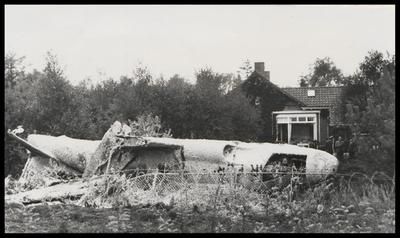 Op 27 september 1958 stortte een T 33 trainingsstraalvliegtuig van het 32ste Amerikaanse squadron neer in de achtertuin van ir. H.C. Demmink, aan de Dolderseweg 52.