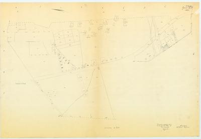 Kadastrale kaart. Zeist Sectie A3