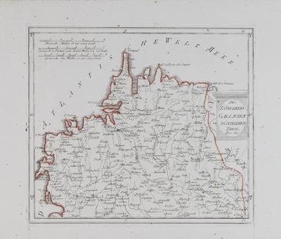 Des Königreichs Gallicien Nördlicher Theil [material cartográfico]