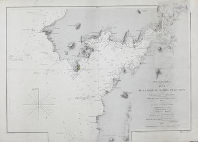 Plan de la Baie de Muros et de Noya [Material cartográfico]: Côte O. d´Espagne