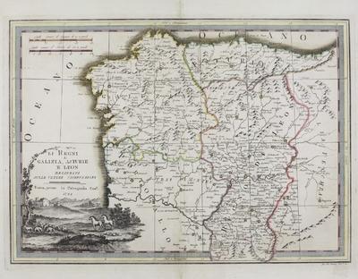 Li Regni di Galizia, Asturie e Leon [Material cartográfico]: delineati sulle ultime osservazioni