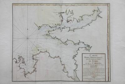 Carte Hidro-Topographique des Entrées et Ports du Férol et de la Corogne [Material cartográfico]