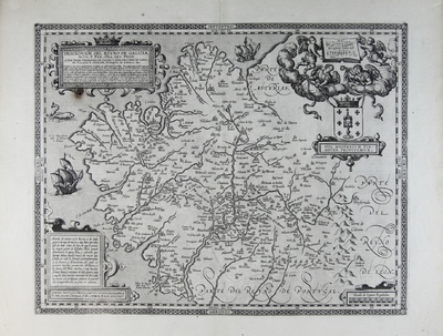 Descripcion del Reyno de Galizia [Material cartográfico]