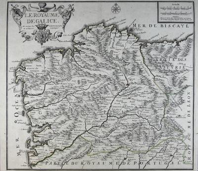 Le Royaume de Galice [Material cartográfico]