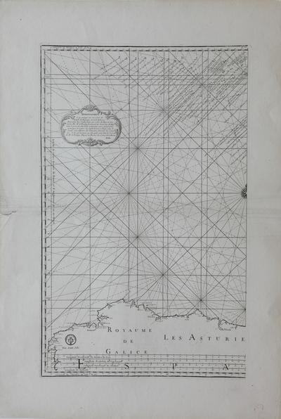 [Carte du Golphe de Gascogne] [Material cartográfico]