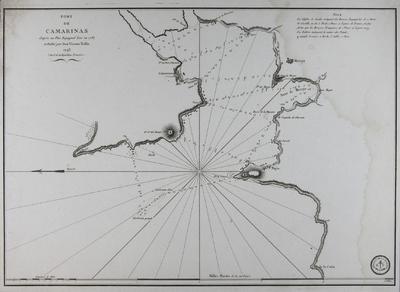 Port de Camarinas d´après un Plan Espagnol levé en 1787 [Material cartográfico]
