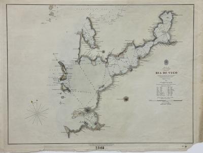 Ria de Vigo : Spain, West Coast [material cartográfico]