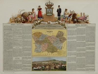 Provincia de Orense [material cartográfico]
