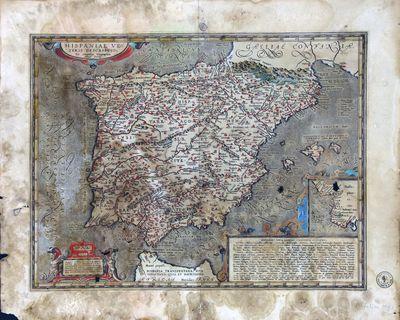 Hispaniae Veteris Descriptio [Material cartográfico]