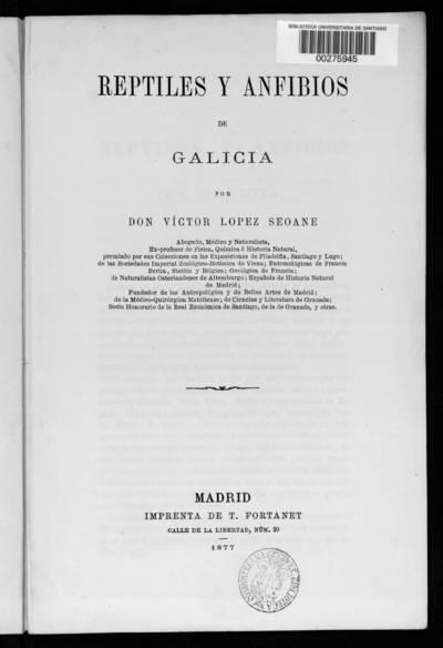 Reptiles y anfibios de Galicia