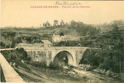 Caldas de Reyes. Puente de la Fábrica